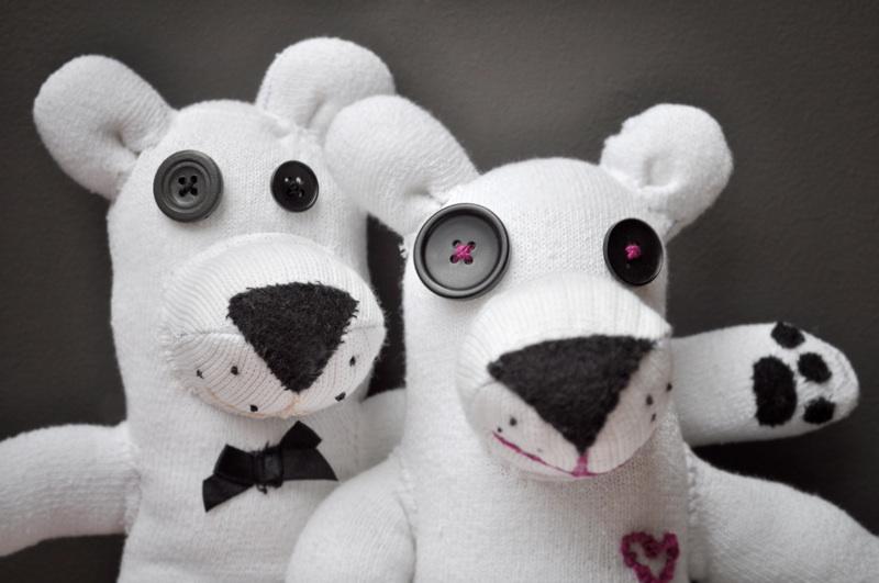 Sock Polar Bears