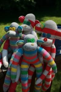 Tangle 'O Monkeys by Binti Villinger