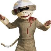 Zombie Sock Monkey !