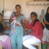 Stitches & Smiles at Shanti Camp