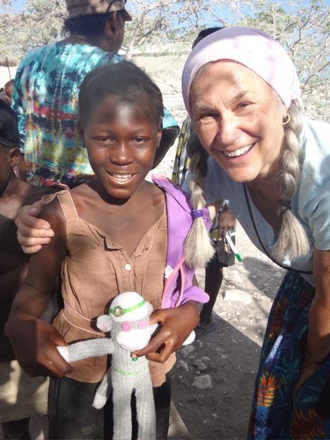 HelpingHaitiCarole@MontBlanc