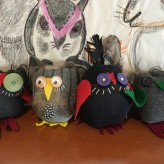 Having a Hoot with Sock Owls